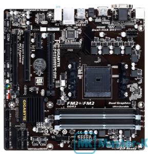 Socket FM2+ GigaByte GA-F2A88XM-D3H, AMD A88X, mATX