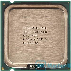 Intel Core 2 Duo E8400 3,00GHz/1333MHz/6Mb-L2, LGA-775 Tray