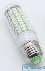 Лампа светодиодная SMD 5730 89 LED E27 220В Warm White