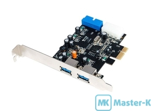 Контроллер PCI-E USB 3.0 ST-Lab U-780 PCI-Express X1