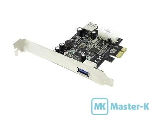 Контроллер PCI-E USB 3.0 ST-Lab U-720 PCI-Express X1