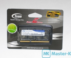 SO-DDR3L 8Gb 1600 Team