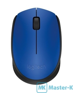Мышь Logitech M171 Wireless Mouse Blue USB