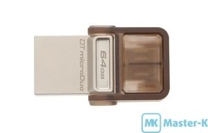USB FLASH 64Gb Kingston DataTraveler MicroDuo DTDUO/64GB
