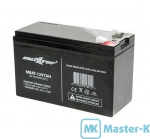 Аккумуляторная батарея 12В/7,0 Ач для UPS Maxxter MBAT-12V7AH