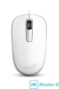 Мышь Genius DX-125 White USB