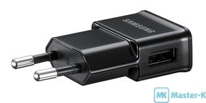 Зарядное устройство Samsung ETAOU80EBE 1A Black