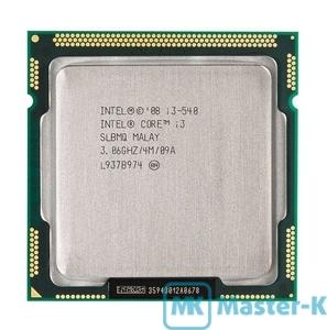 Intel Core i3-540 3,06GHz/1333MHz/4Mb-L2/GPU-733MHz, LGA-1156 Tray