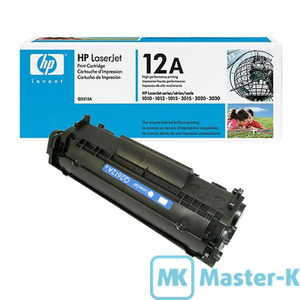 Картридж HP LaserJet 1010/12/15, 2.000 pages (Q2612A)