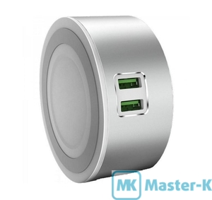 Зарядное устройство сетевое ColorWay CW-CHL22A + LED сенсорный светильник