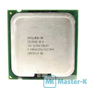 Intel Celeron D 336 2,8GHz/533MHz/256Kb-L2, LGA-775 Tray
