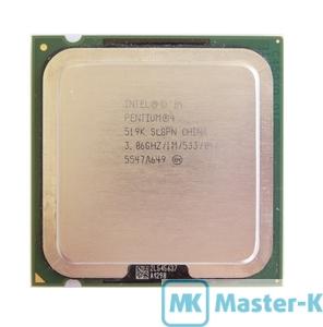 Intel Pentium IV 519K 3,06GHz/533MHz/1Mb-L2, s755 Tray