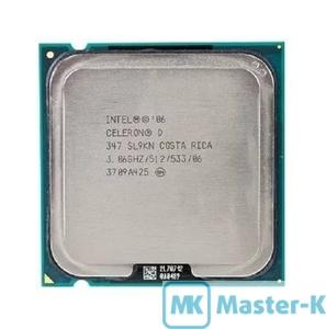 Intel Celeron D 347 3,06GHz/533MHz/512Kb-L2, LGA-775 Tray