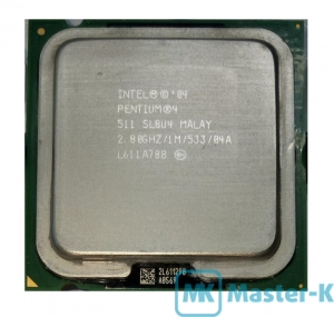 Intel Pentium IV 511 2,80GHz/533MHz/1Mb-L2, s755 Tray