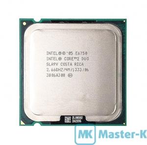 Intel Core 2 Duo E6750 2,66GHz/1333MHz/4Mb-L2, LGA-775 Tray