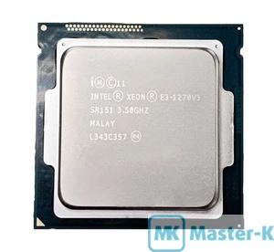 Intel Xeon E3-1270 V3 3,50GHz/1600MHz/8Mb-L3, LGA-1150 Tray