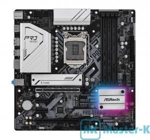 Socket 1200 AsRock Z590M Pro4, Intel Z590 Express Chipset, mATX