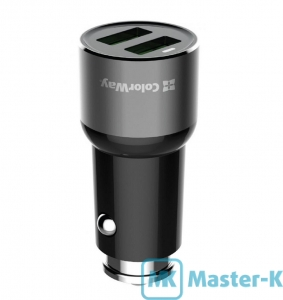 Зарядное устройство автомобильное ColorWay CW-CHA010-BK Black
