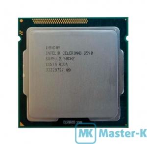 Intel Celeron G540 2,50GHz/1066MHz/2Mb-L3/GPU-850/1000MHz, LGA-1155 Tray